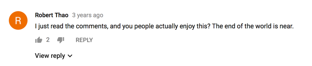Beautiful Hollywood TigerTripp YouTube Comments